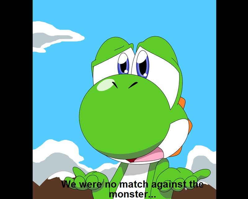 Yoshi Angry Random yoshi anime scene test1