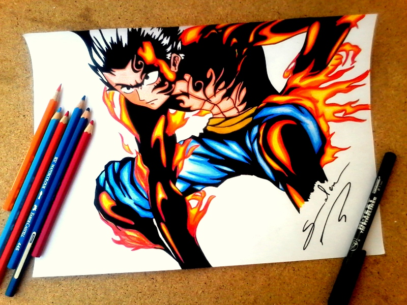 Luffy D Gear 5 By Salemboussif On Deviantart