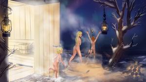 Bath time! -   [Fiddee 's commission]