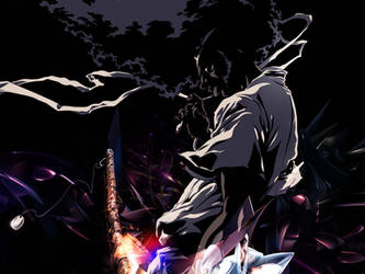 Afro Samurai background by rpgfan04