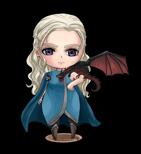 Daenerys Targaryen Chibi By Rukka97 On DeviantArt