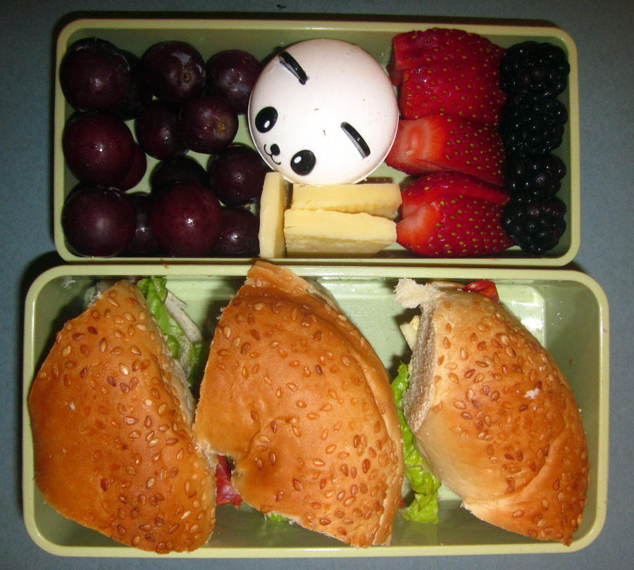 Bagel Bento by Thenextera