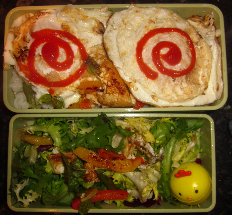 Egg Bento by Thenextera