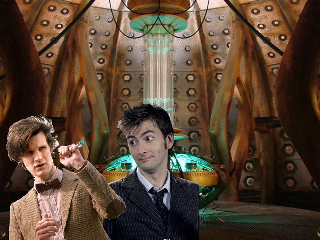 10th and 11th doctor meet episode
