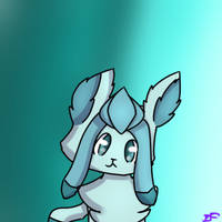 Glaceon icon (Free to use) by ImaFishtick