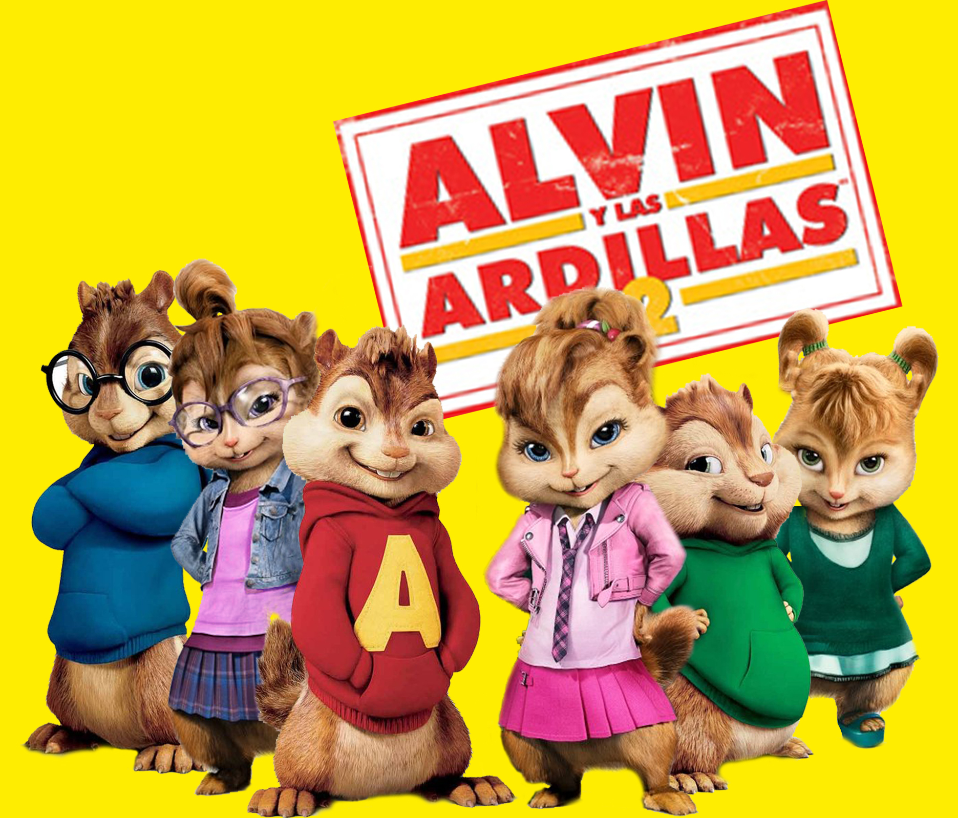 Alvin And The Chipmunks Theodore And Eleanor Wallpaper The Chipmunks y The Ch...