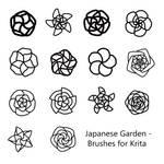 Japanese - Brushes for Krita