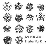 Crochet Lace - Brushes for Krita