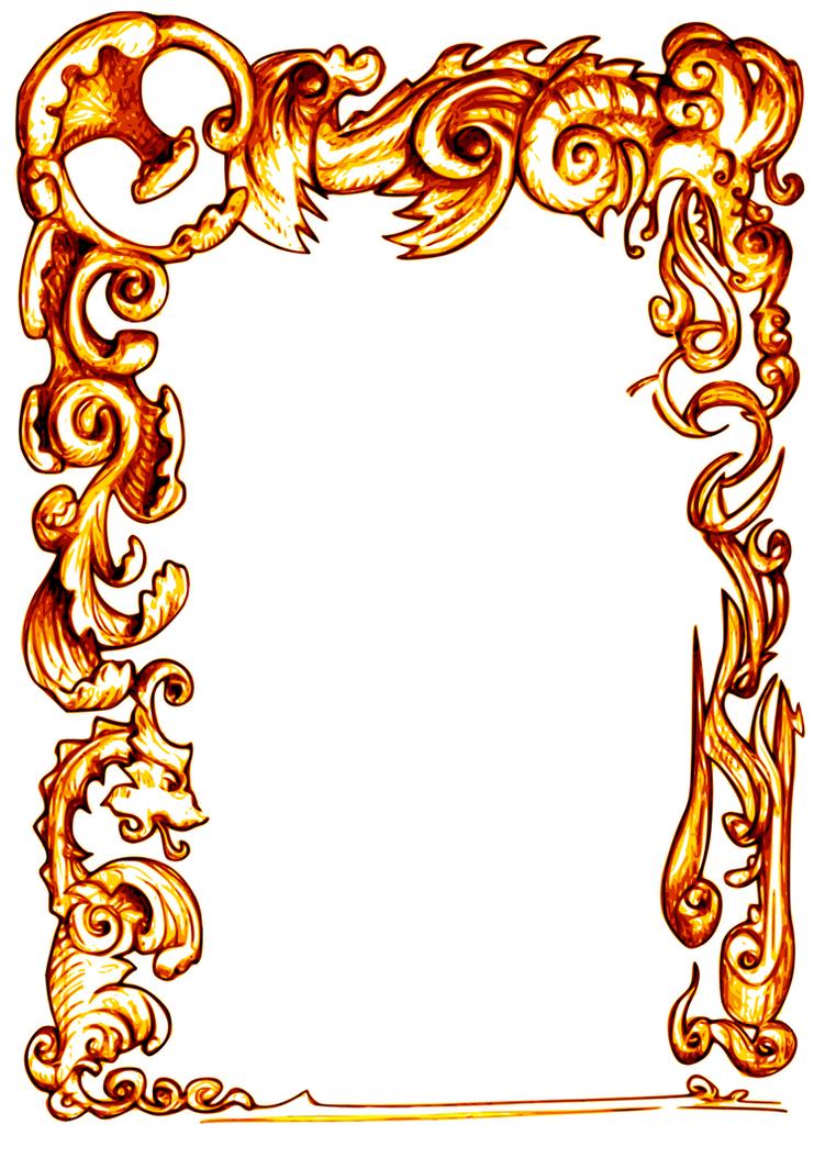 dragon frame by sberto - Dragon Frame