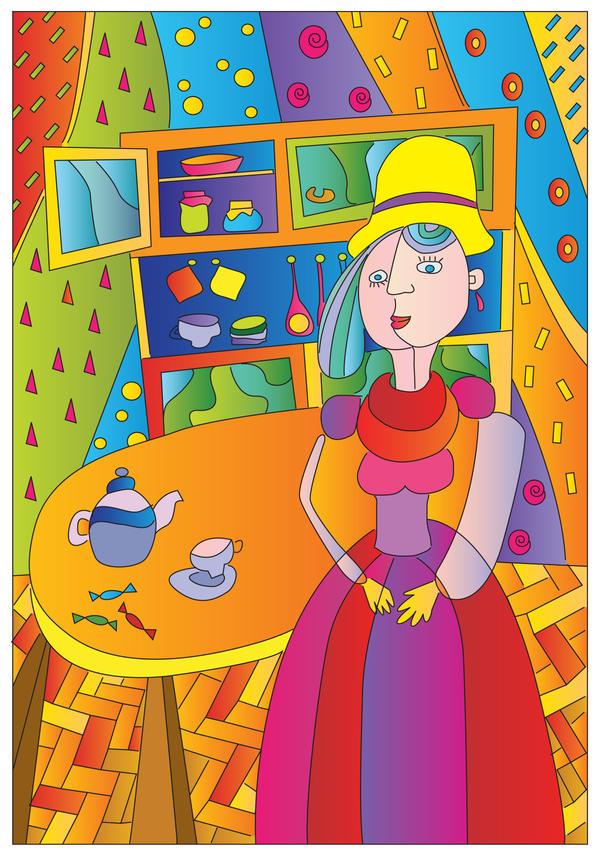 Lady by shlyapnikova
