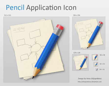 Pencil Application Icon
