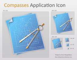 Compasses Application Icon