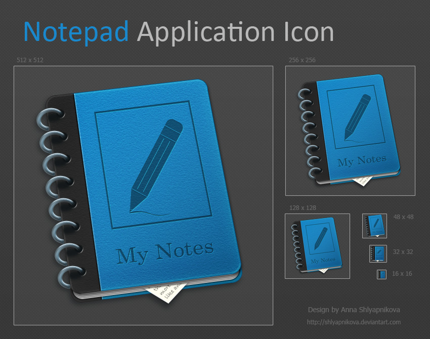 Notepad Application Icon