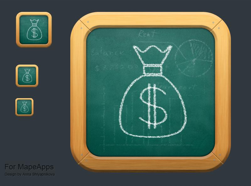 Pocet Budget Icon by shlyapnikova