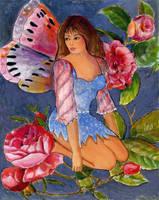 Rose Fairy by artfantasy