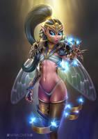 Fairy Warrior by infralove96