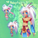 Chinese White Tiger Girl {ADOPTABLE-SOLD}