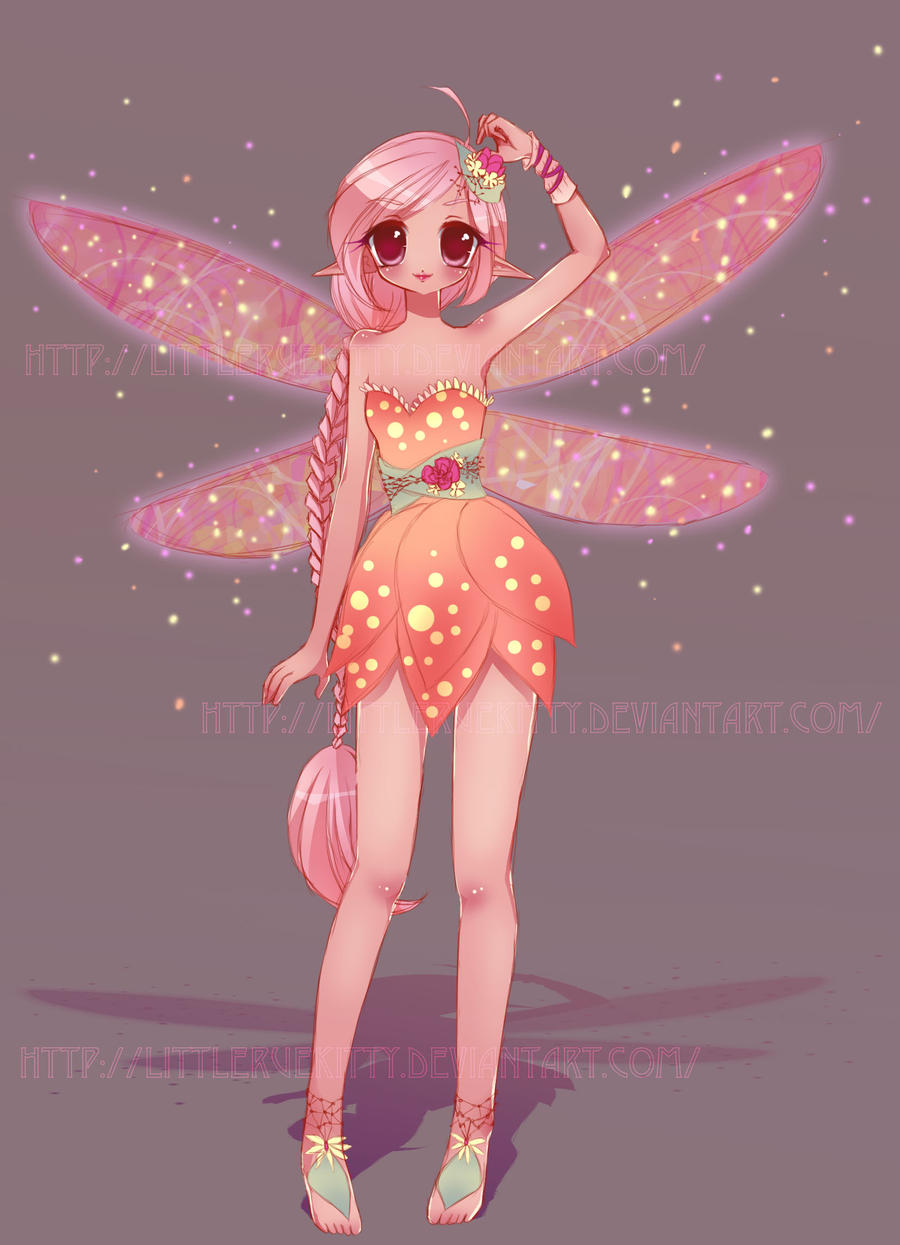 Fairy Adoptable {Auction-CLOSED} by LittleRueKitty