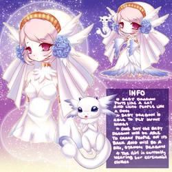 Summoner Adoptable w/ Baby Dragon {CLOSED} by LittleRueKitty