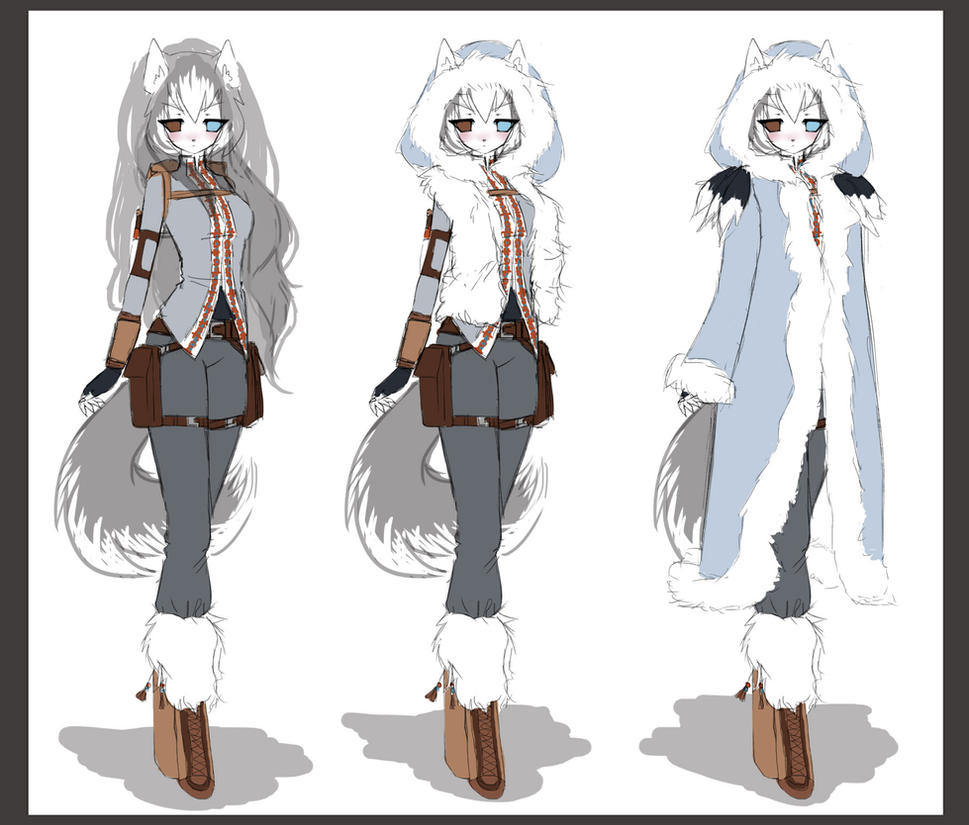 Suki outfit design-winter by LittleRueKitty on DeviantArt
