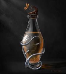 Magic bottle by Fevertan