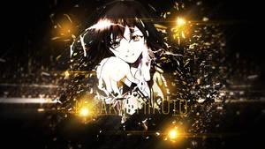 Wallpaper - Misaka Mikoto [RailGun]