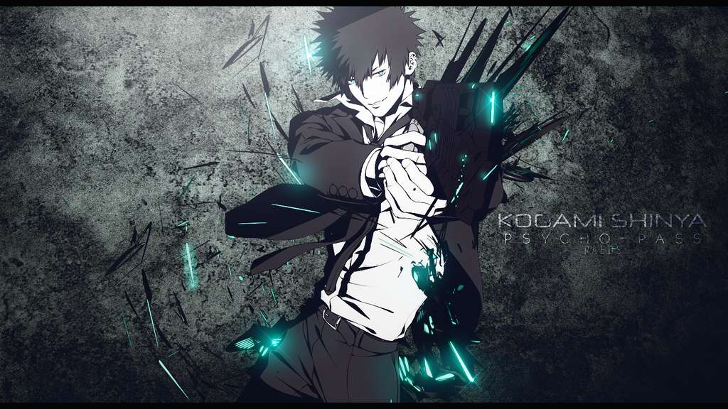Wallpaper - Kogami Shinya by kikiaryos on DeviantArt