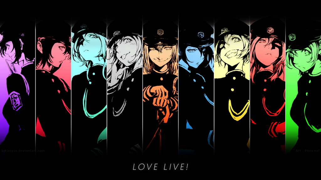 Wallpaper - Love Live! by kikiaryos on DeviantArt