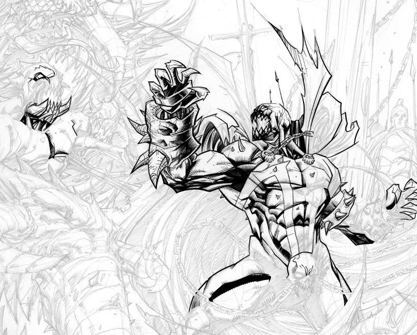 Inking progress... by WEB99