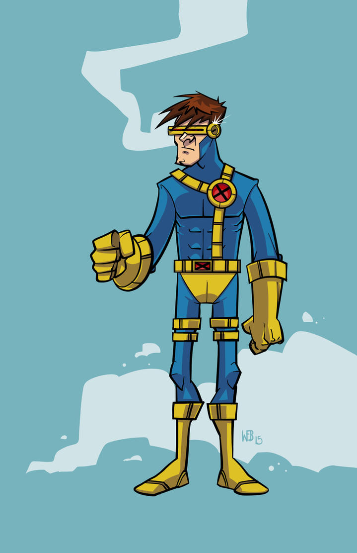90's Cyclops by WEB99