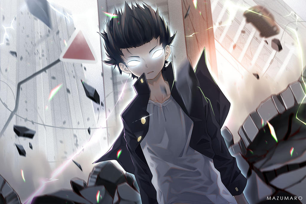 Mob Psycho 100 by Mazumaro