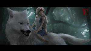 Princess Mononoke fanart [shot 4]
