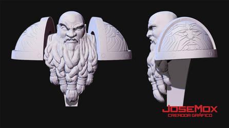 Grom Rockhead 3DModel by JoSeMoX