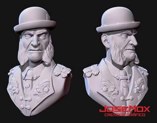 Sir Joseph Magnus 3D Model by JoSeMoX