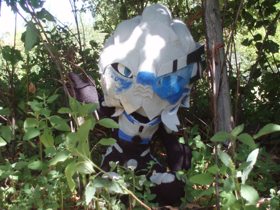 Garrus in the Woods by mariosonic