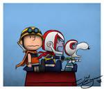 Peanuts!! Getter Robo