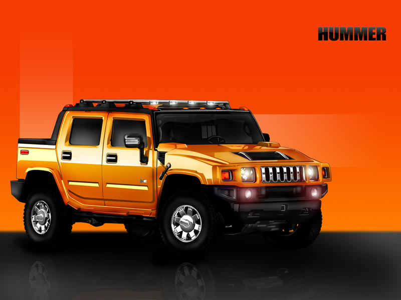 Hummer H2 by ronaldesign
