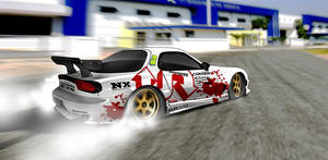 RX 7 drift