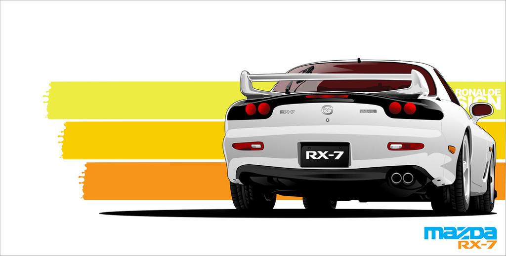 Mazda Rx 7 By Ronaldesign On Deviantart