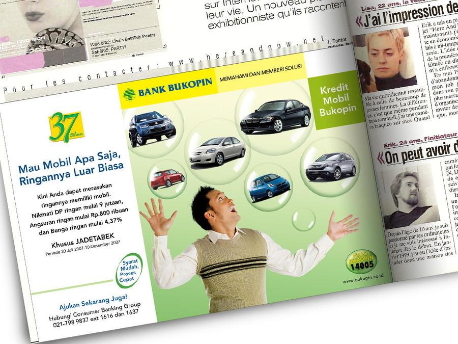 Bukopin KMB Print Ad by ronaldesign