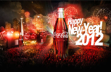 Coke New Year 2012 by ronaldesign