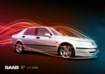 Saab 95 by ronaldesign