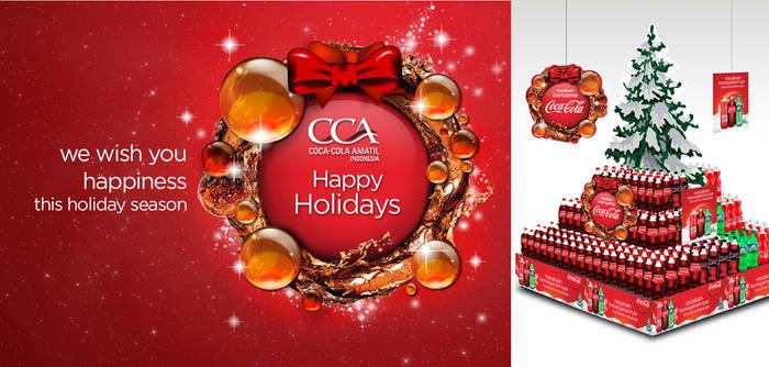 Christmas 2012 POSM Coca-Cola Indonesia