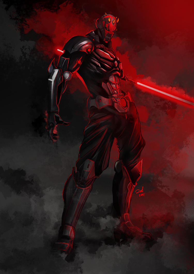 Armored Darth Maul ver 2 by ronaldesign