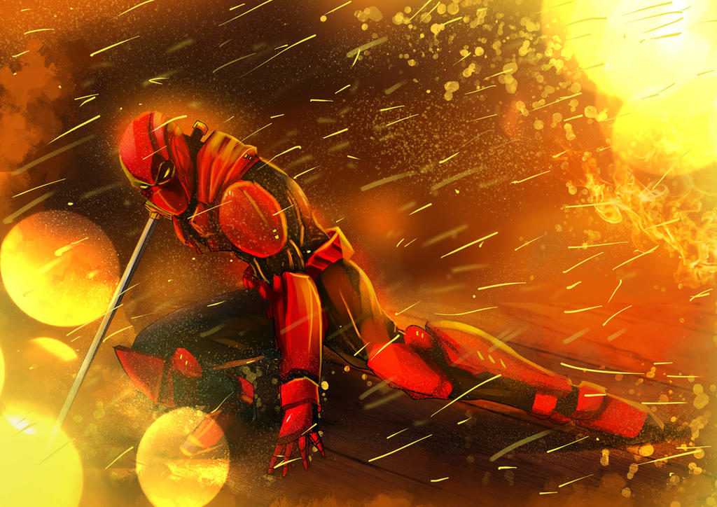 Armored Deadpool by ronaldesign