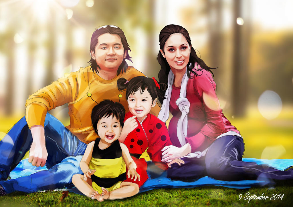 COMMISION: Cherun's Family by ronaldesign