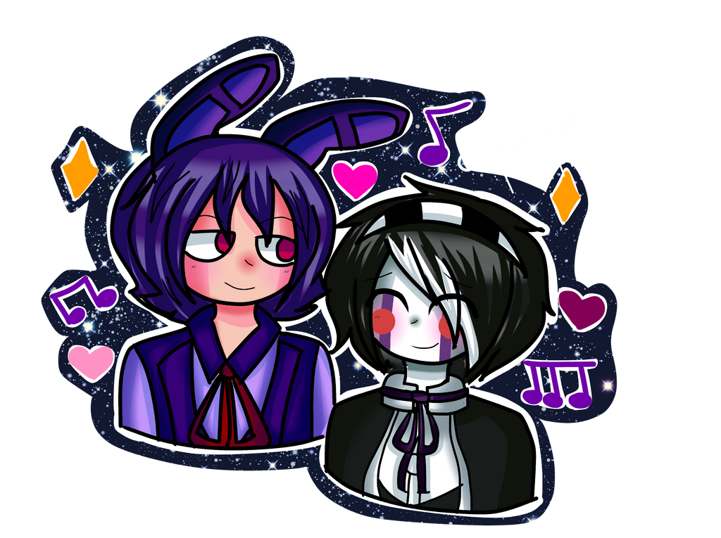 Bonnie X Puppet   Ds by me by Likkethe2