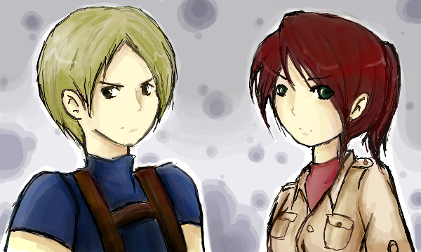 Resident Evil Degeneration: Leon and Claire by wiissbb123600