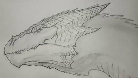 dragon's head by Infinite1999