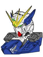 Wing Gundam Zero Custom by Infinite1999